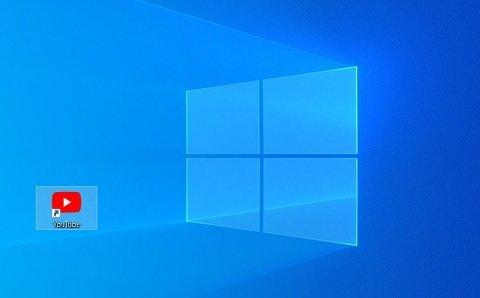 YouTubeのショートカットアイコンを,PCのデスクトップに作成する方法【Googleクローム】