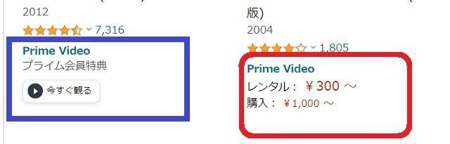 Amazonプライム会員、有料レンタル、会員特典