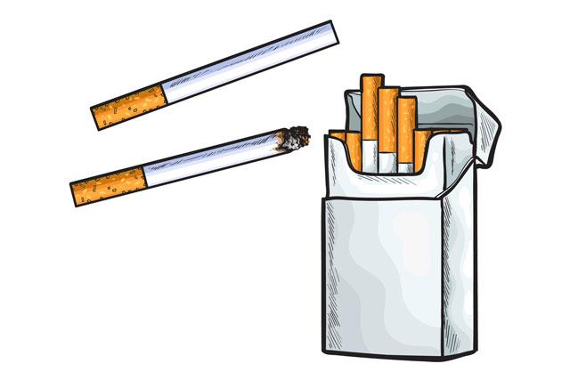 たばこ1~10本/日でも、早期死亡や肺癌リスクが大幅アップ、米国の大規模研究から