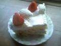 ストロベリーオンザショートケーキ