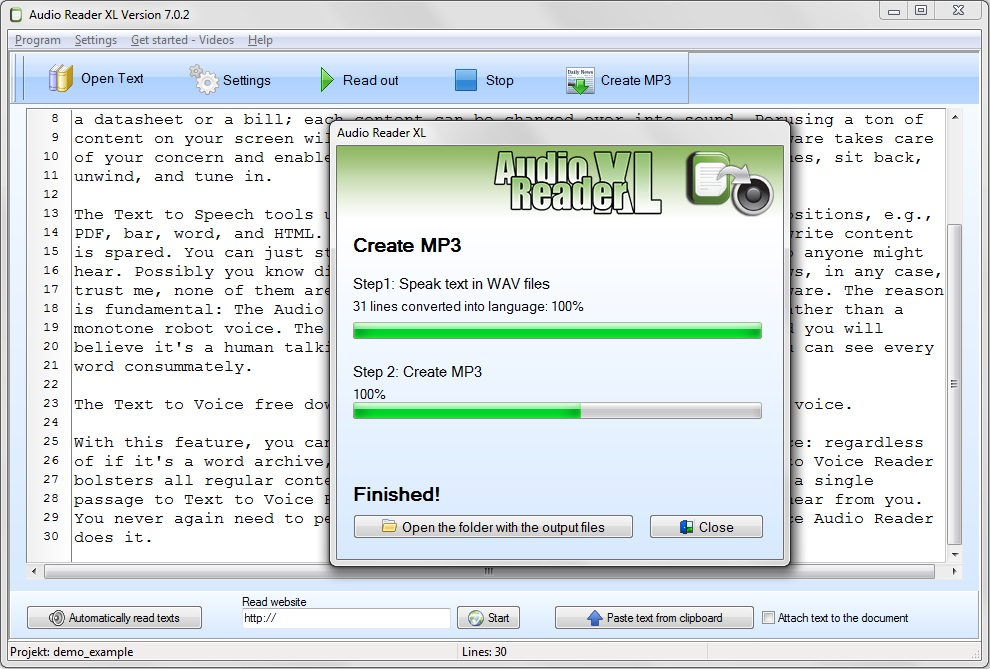 Text to speech software for Windows 7 for lazy people