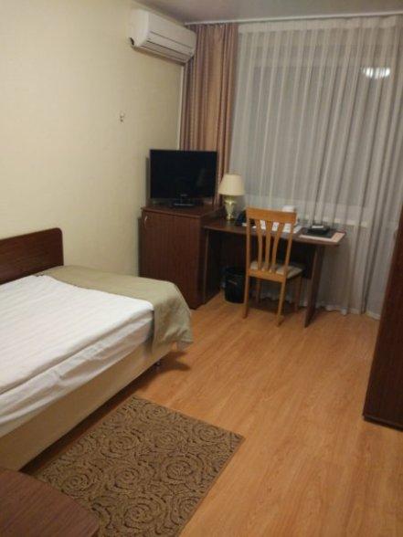 ウラジオストク、ホテル  ジェムチャズィナ室内