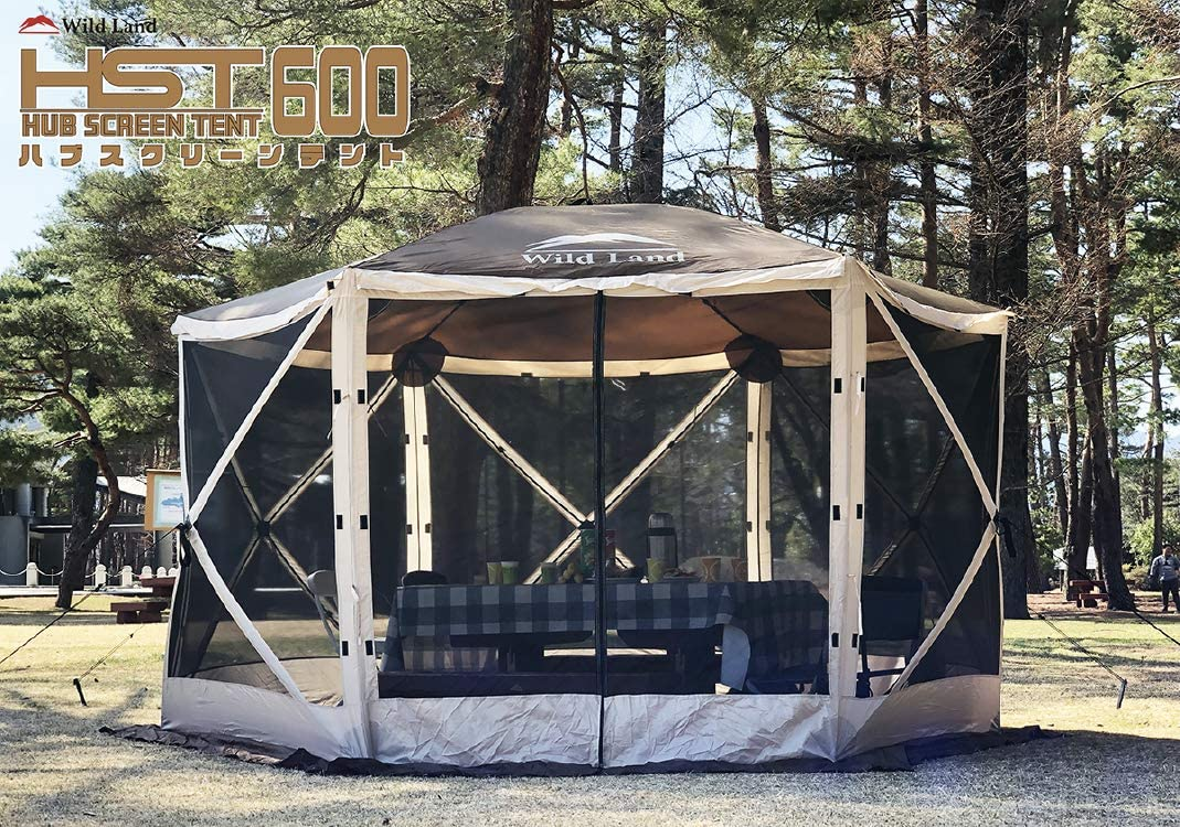 大型オールメッシュスクリーンテント HUB SCREEN TENT600