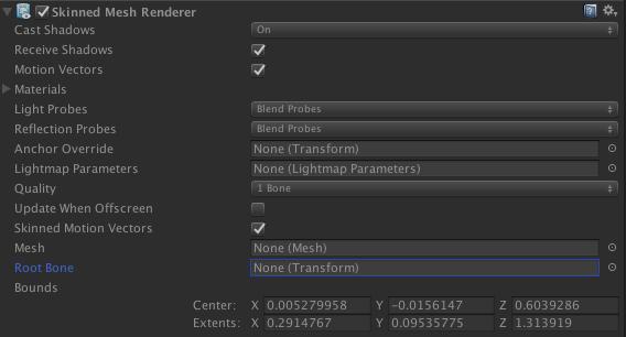Unity SkinnedMeshRendererのクオリティ負荷検証_0