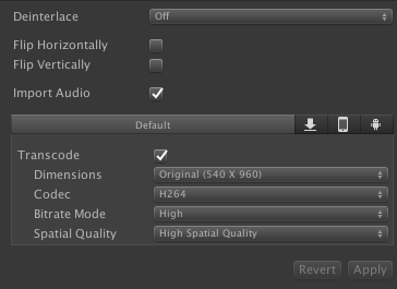 Unityの動画アセットのポストプロセス方法_0