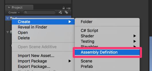Unity2017.3のAssembly Definitionがコンパイル時間短縮の救世主になりそうな予感_0