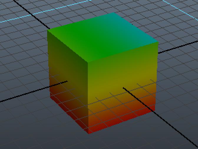 Mayaでオブジェクトにマテリアルを設定する_7