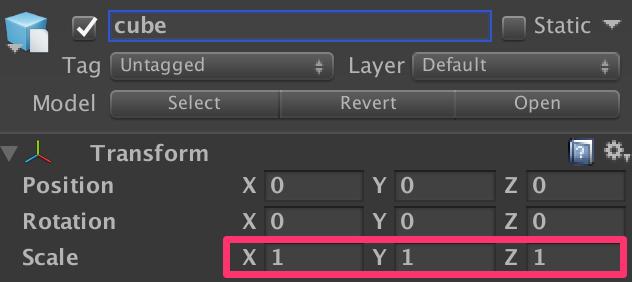 Unityのスケール1とMaya FBXのスケール1を一致させる方法_7