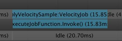 Unity C#JobSystemをとりあえずやってみる序_3
