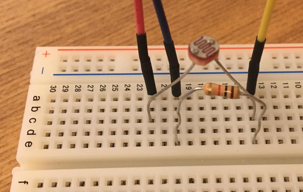 Arduino 光センサーを使ってみる_2