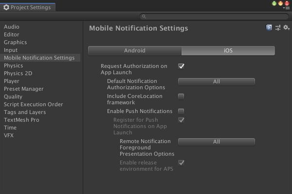 【無料】Unity公式Mobile NotificationsでローカルPush通知を実装する_4