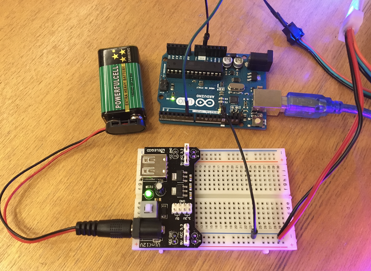 ArduinoでLEDテープライトを光らせる方法_1