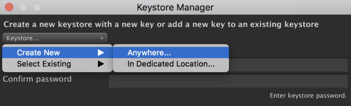 Unity2019.1でAndroidリリースに必要なKeyStoreを作成する_1