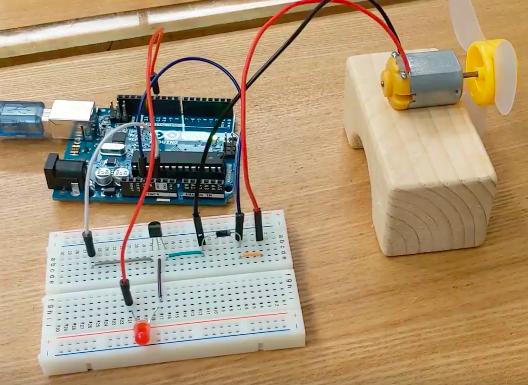 ArduinoでDCモーターを使ってみる〜娘のために扇風機を作る_その1〜_6