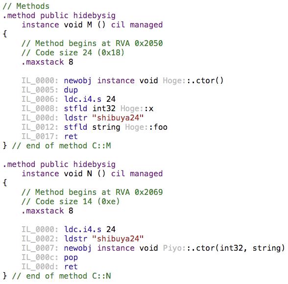 C#コンストラクタパフォーマンス比較検証_2