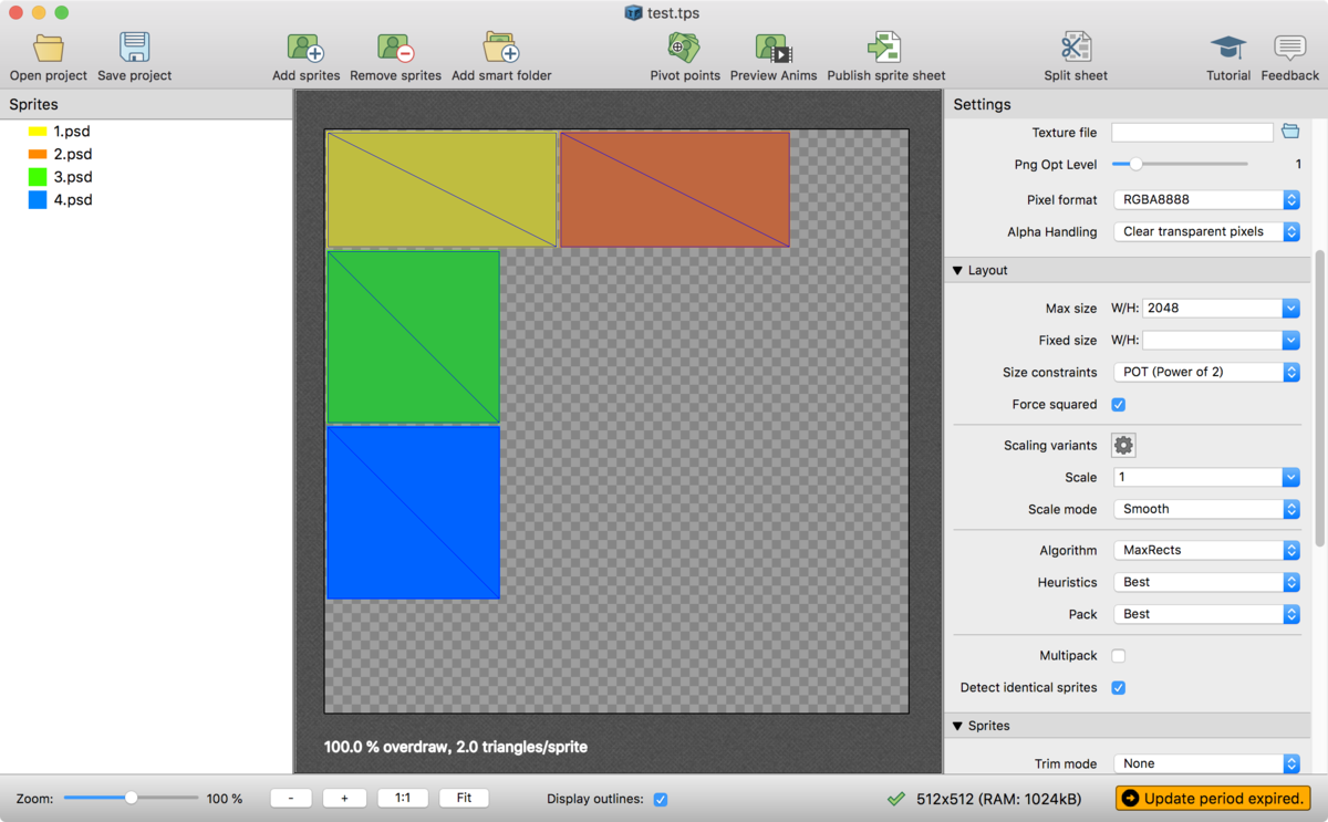 TexturePackerで画像を追加する際のちょっとした効率化Tips_2