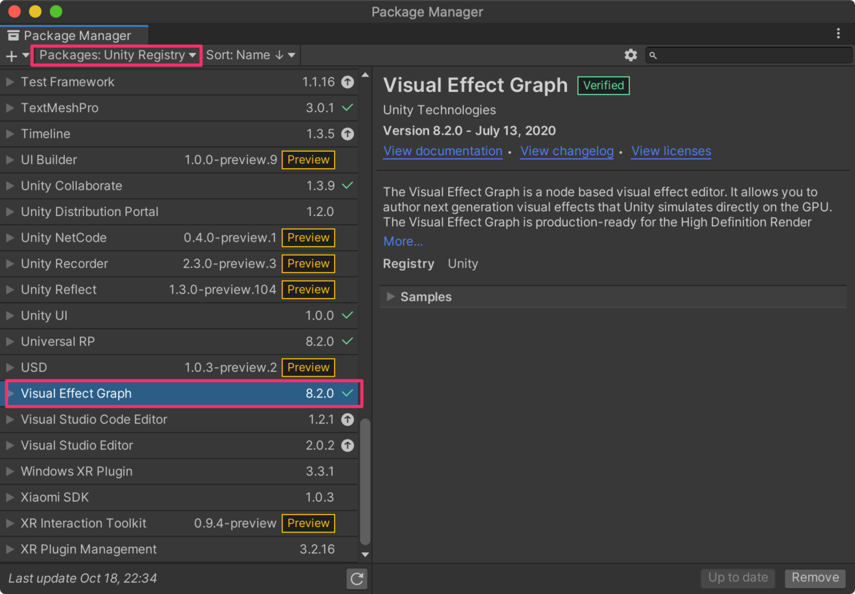 【Unity】Universal Render PipelineでVisual Effect Graphの始め方(ポストエフェクト付き)_1