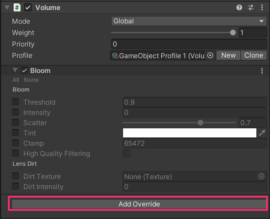 【Unity】Universal Render PipelineでVisual Effect Graphの始め方(ポストエフェクト付き)_4