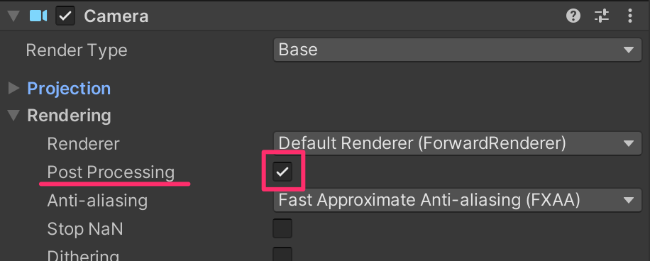 【Unity】Universal Render PipelineでVisual Effect Graphの始め方(ポストエフェクト付き)_5