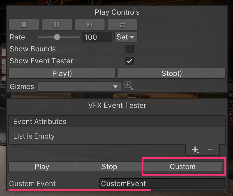 【Unity】シーンビューからVisual Effectに対してカスタムイベントを呼ぶ方法_1