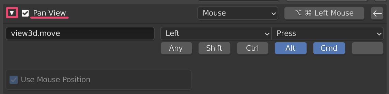 【Blender】Unityシーンビューの操作性に合わせる方法_4