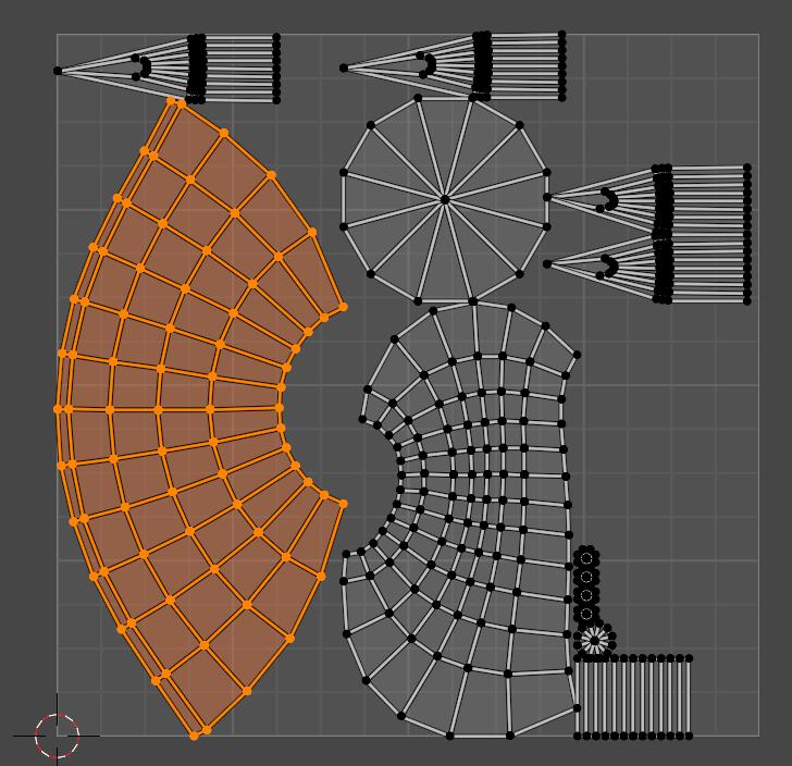 【Blender】かんたん初心者UV展開する方法_9