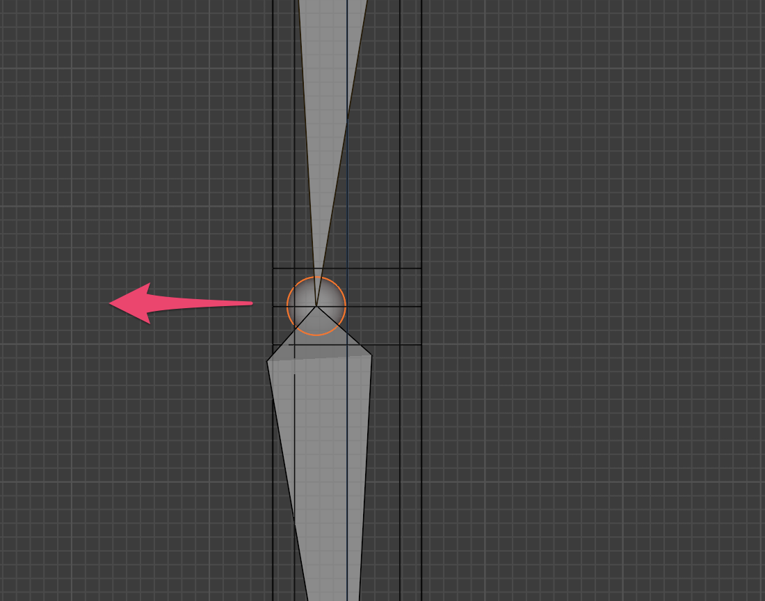 【Blender】かんたん初心者ボーンの追加方法_6