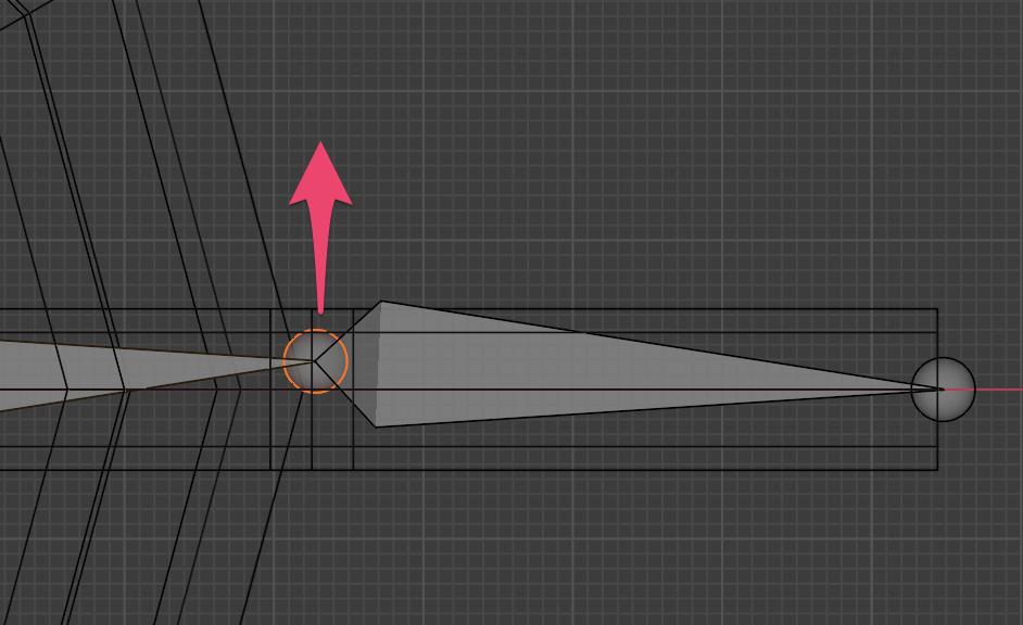 【Blender】かんたん初心者ボーンの追加方法_7