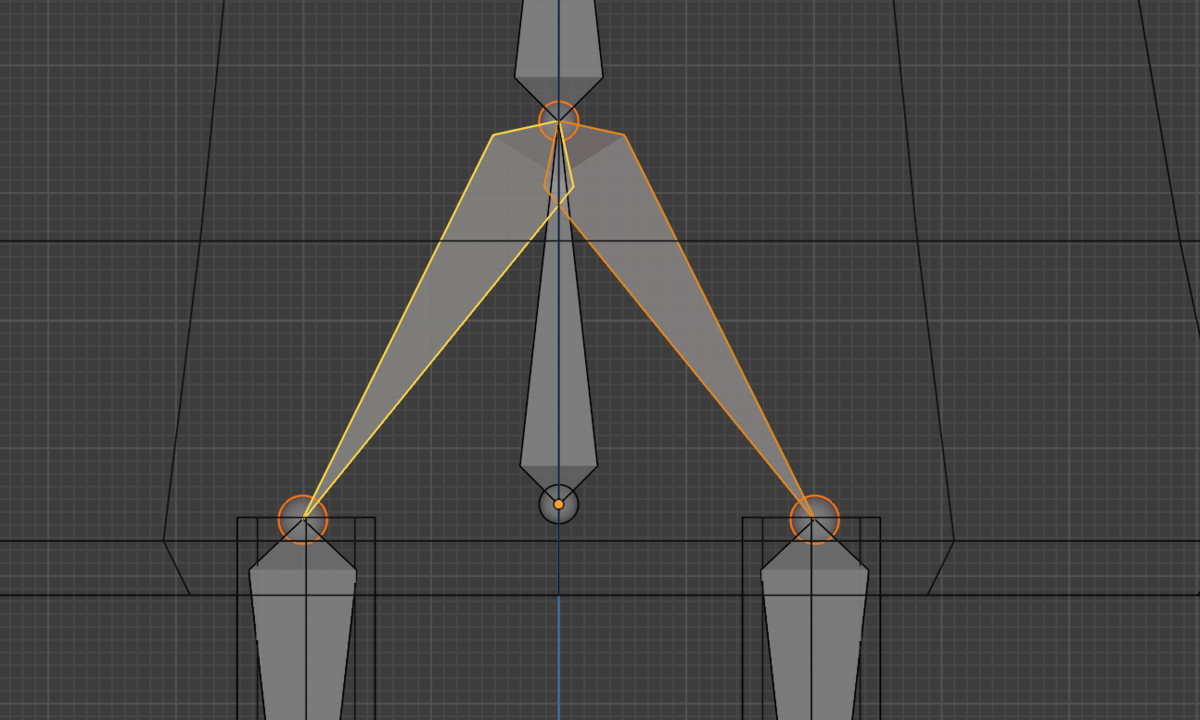 【Blender】かんたん初心者ボーンの追加方法_8