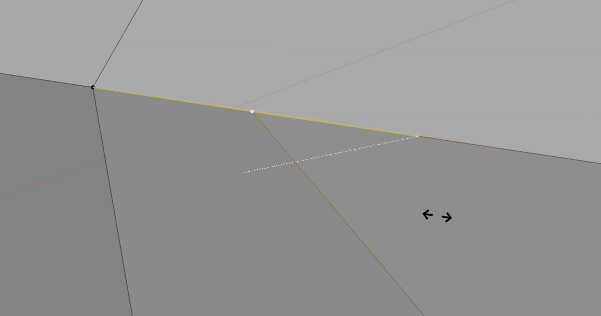 【Blender】かんたん初心者 頂点の追加とメッシュ分割_6