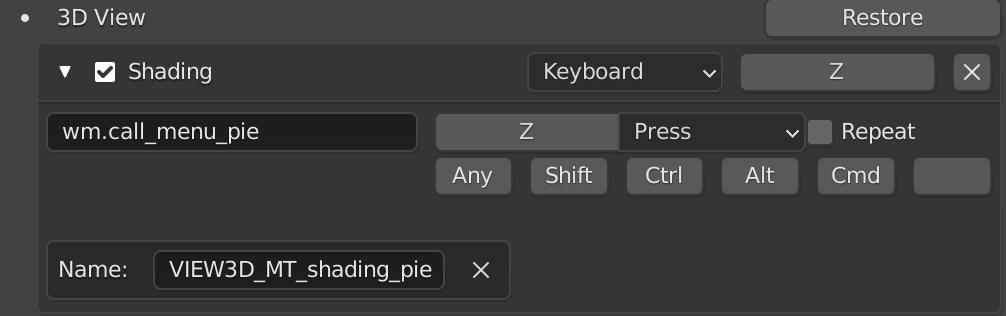 【Blender】リングメニューで描画モードを切り替えて効率アップ_3