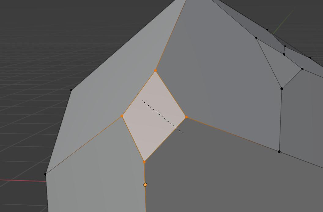 【Blender】かんたん初心者 頂点の分割方法_3