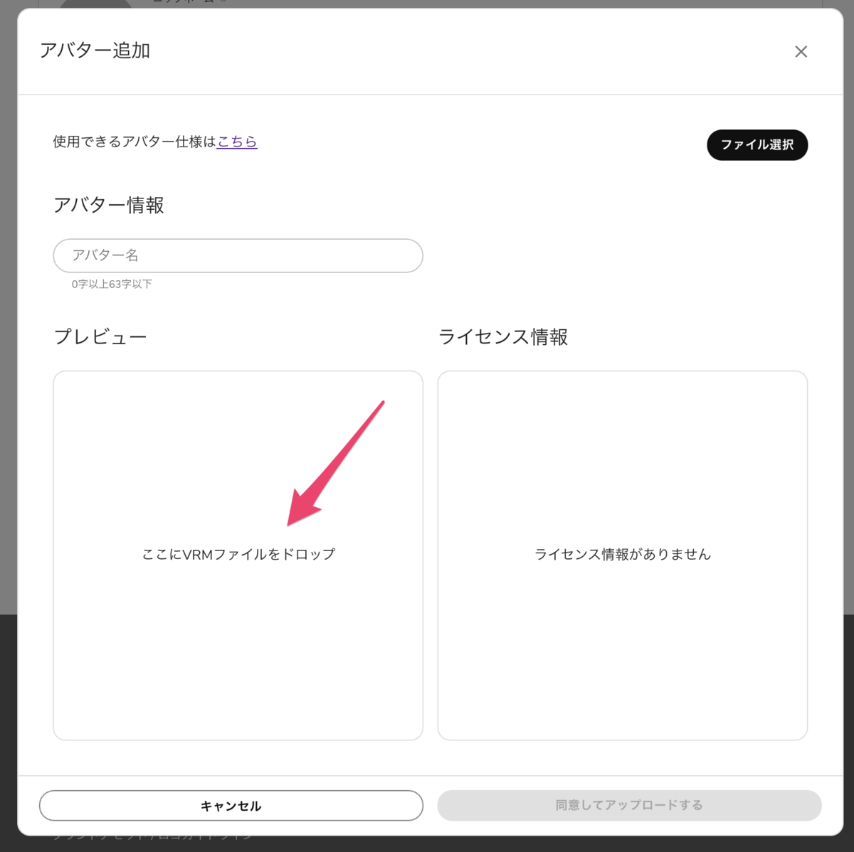 【DMM VR Connect】VRMを表示させる方法_9
