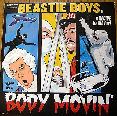 BEASTIE BOYS / BODY MOVIN' ( 12 )