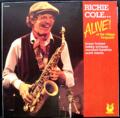 RICHIE COLE / ALIVE ! ( LP )