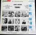 JAMES BROWN & THE FAMOUS FLAMES / THINK ! ( JAPANESE PROMO ) ( W/ OBI ) ( LP )