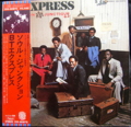 B.T. EXPRESS / FUNCTION AT THE JUNCTION ( 1977 JAPANESE press ) ( 帯付 プロモ ) ( LP )