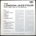 LONDON JAZZ FOUR / TAKE A NEW LOOK AT THE BEATLES ( UK original press ) ( LP )
