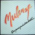 MULENZA / CON POCAS PALABRAS BASTA ( LP )