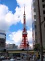 [ZD 25mm F2.8]東京タワー、赤羽橋南より