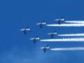 [EC-14][ZD ED 50-200mm F2.8-3.5 SWD]大空を駆けるブルーインパルス