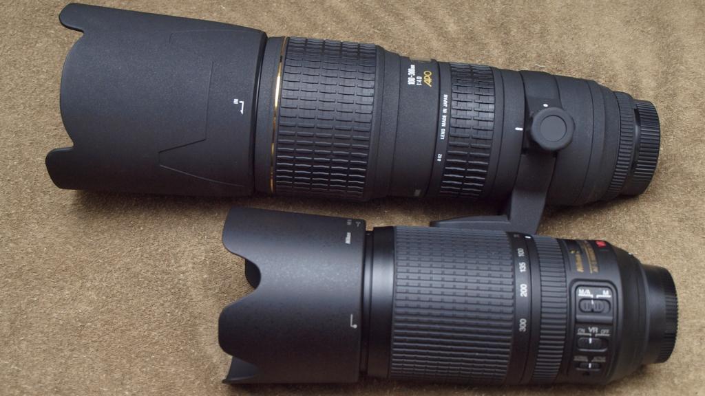 個別「[ZD ED 14-42mm F3.5-5.6]SIGMA APO 100-300mm F4 EX IF HSM と ... Hsm