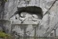 ルツェルン 傷ついたライオン像