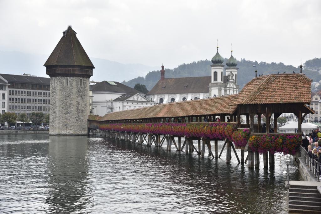 ルツェルン カペル橋