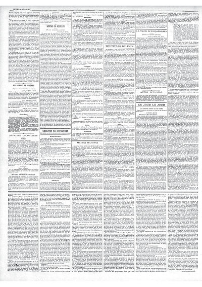 『タン』紙、1887年2月14日