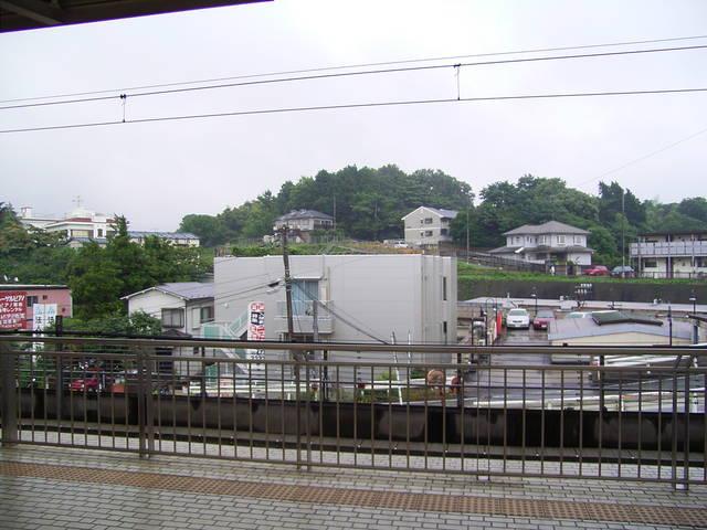新横浜駅下りホームより