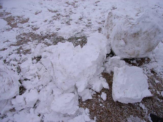 雪だるま崩壊@海津城