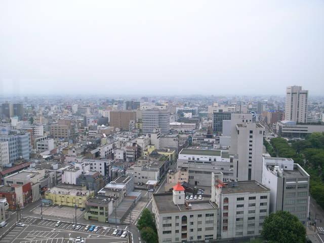 個別「[town]富山市庁舎展望台より臨む富山市街」の写真、画像 ...