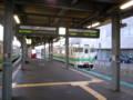 [train]江差行き普通列車@函館駅