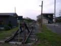 [train]久留里線車止め